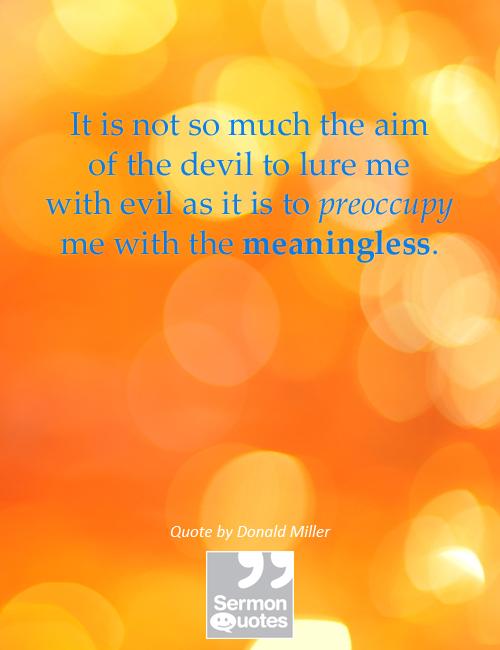 aim-devil-preoccupy-me