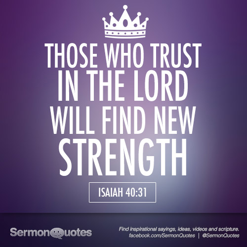 Trusting In The Lord Quotes: Those Who Trust In The Lord