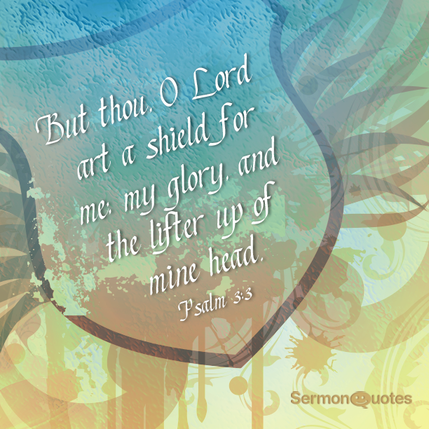 Be my shield Lord