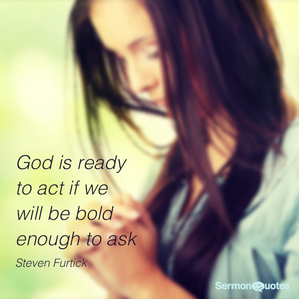 God is ready to act