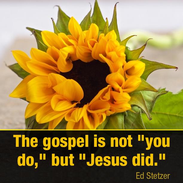 The gospel is not