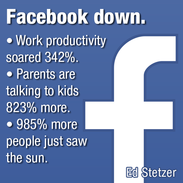 Facebook down - SermonQuotes