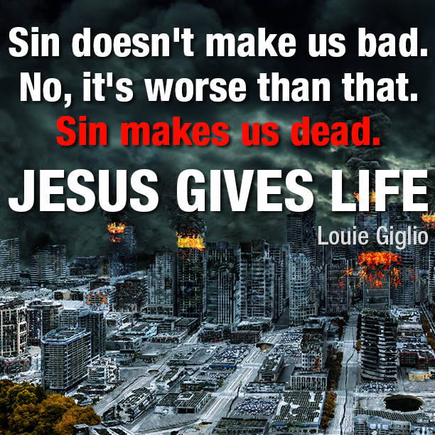 Sin doesn't make us bad.