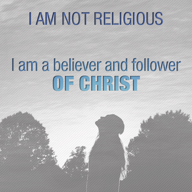 I am not religious