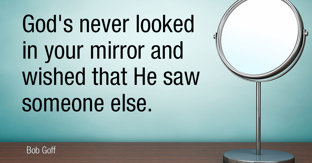 God's never looked into the mirror Daily Mirror
