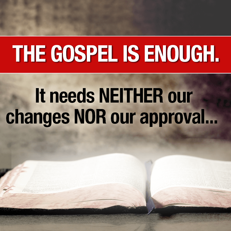 gospel-is-enough