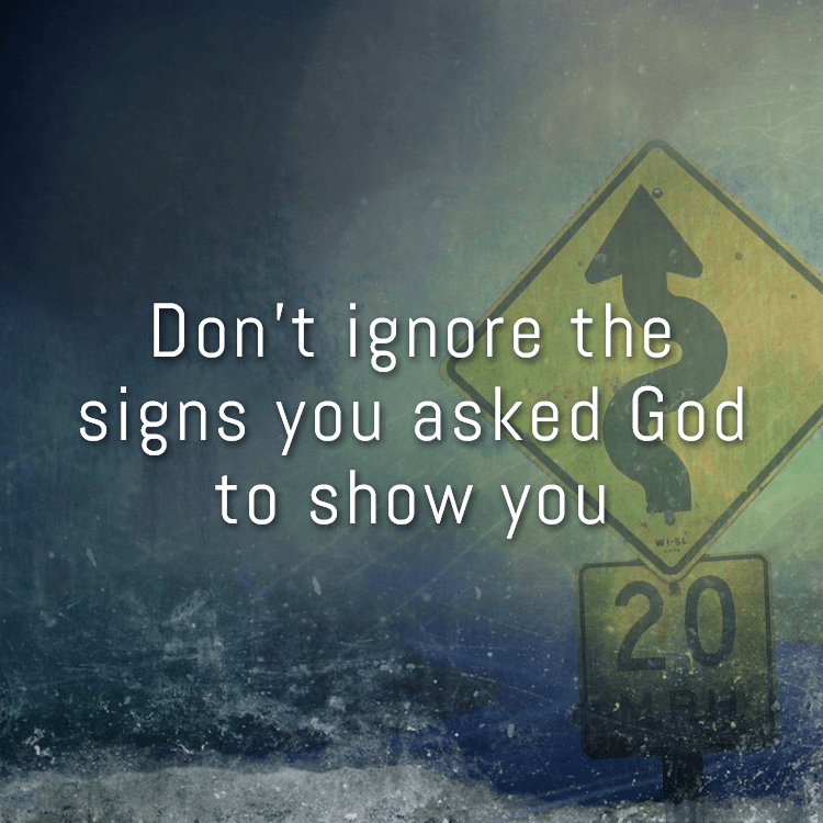 Signs God shows you