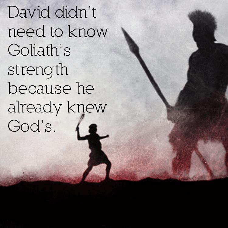 david-knew-god