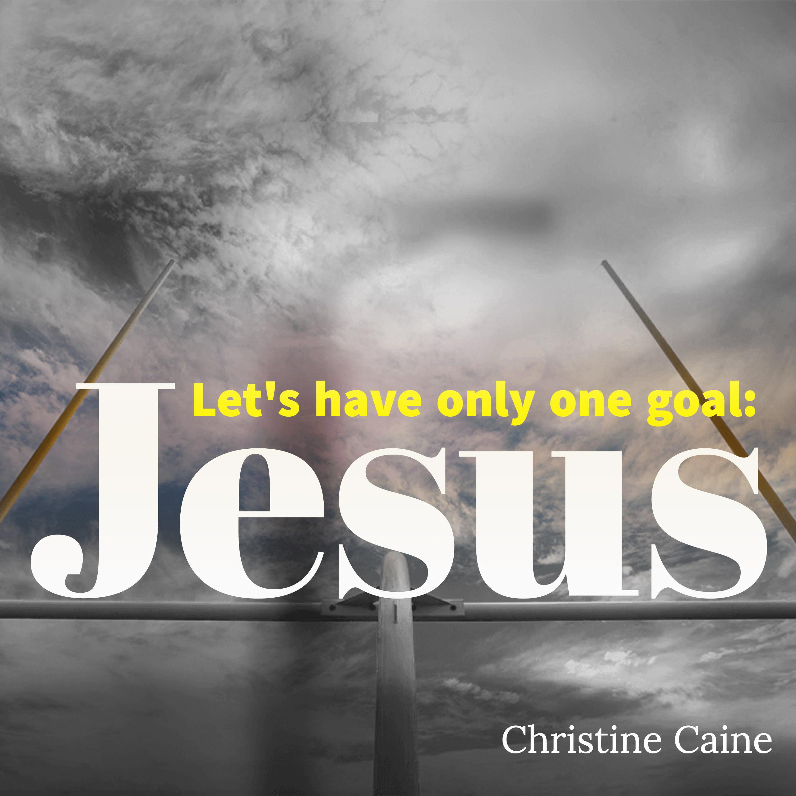 one-goal-jesus