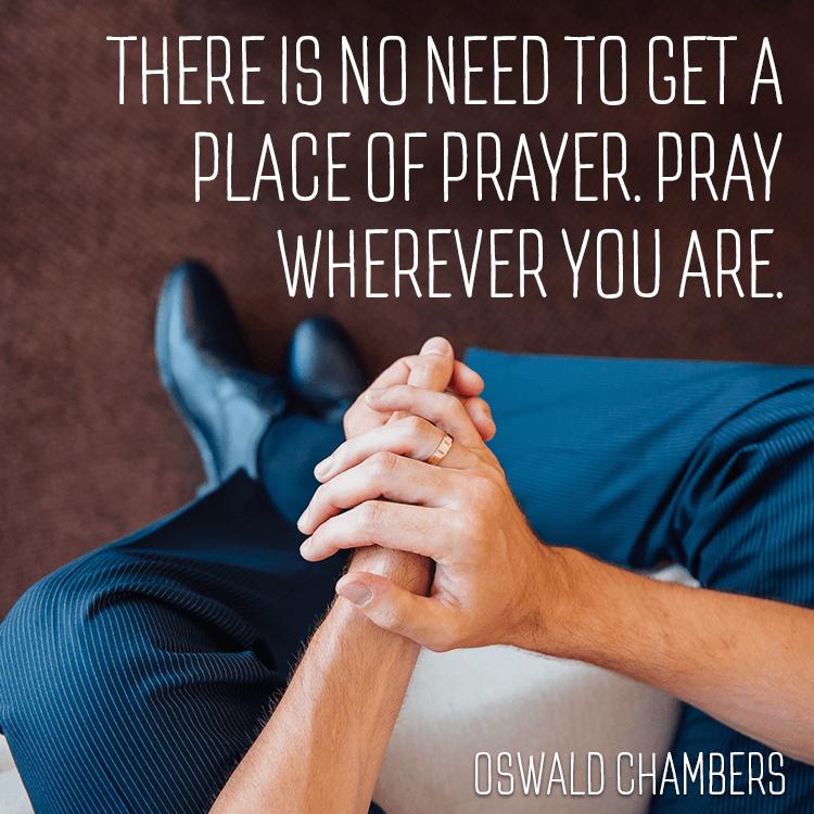pray-where-you-are