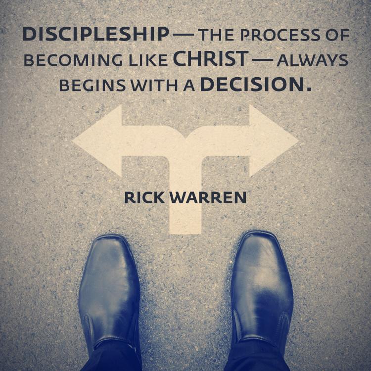Rick Warren_Discipleship