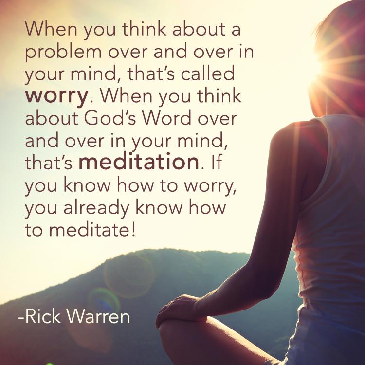 Rick Warren_Worry