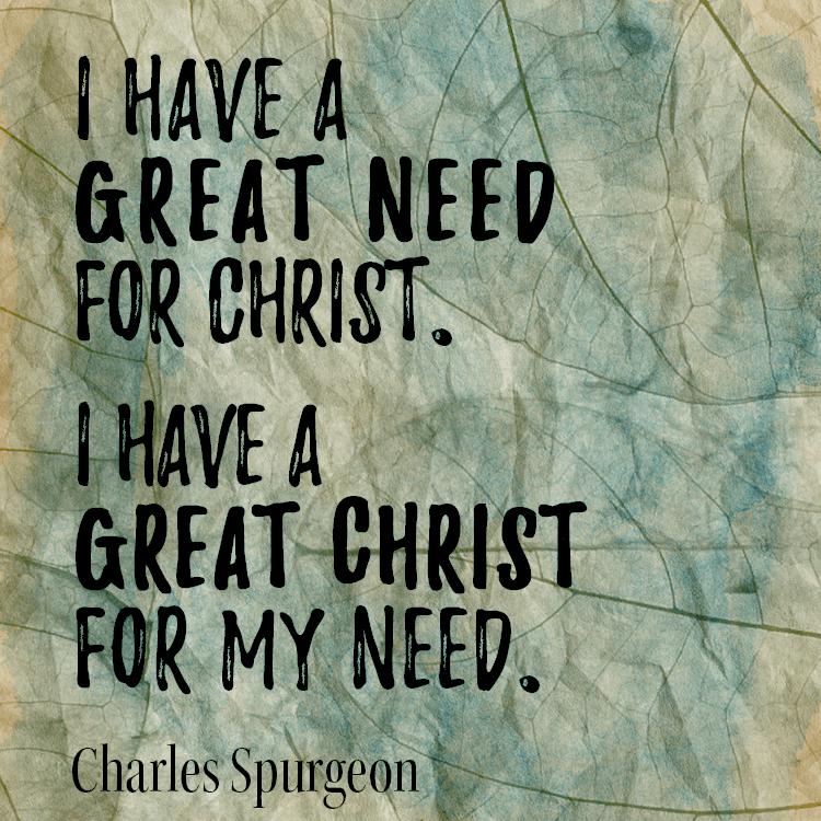 great-need-christ