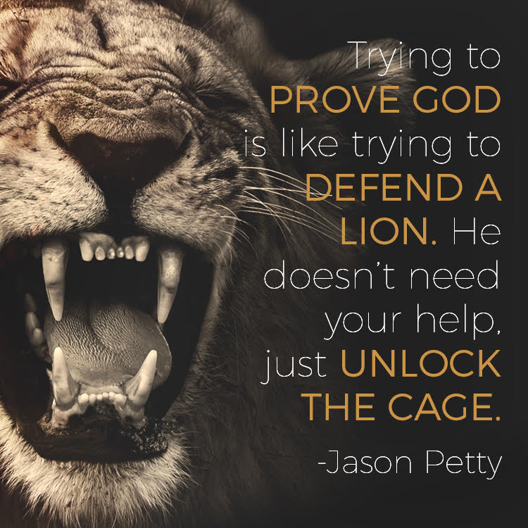 prove-god-lion
