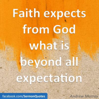 faith-expects
