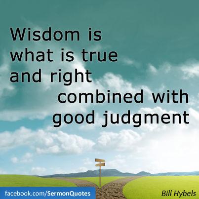 wisdom-is