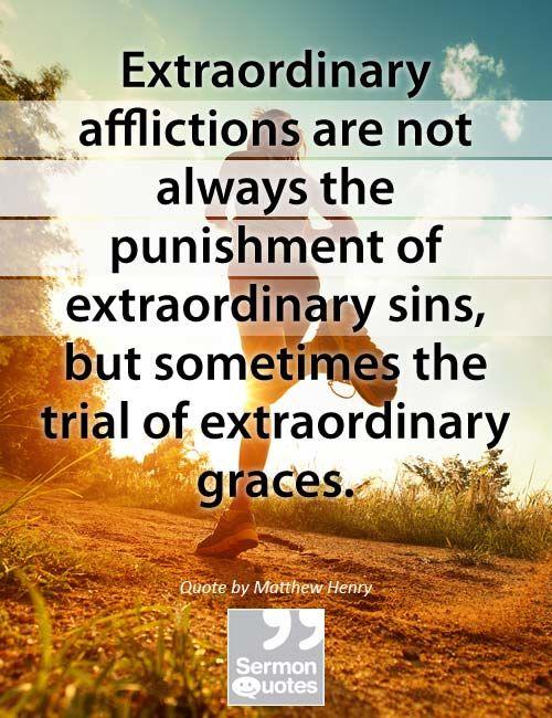 afflictions-not-punishment