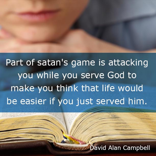 Part of Satan's Game
