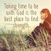 Taking time with God