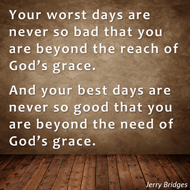Gods Grace Quotes: Your Worst Days